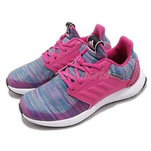 5a278749a2df83 adidas RapidaRun BTW K Pink Blue White Kid Junior Preschool Shoes ...