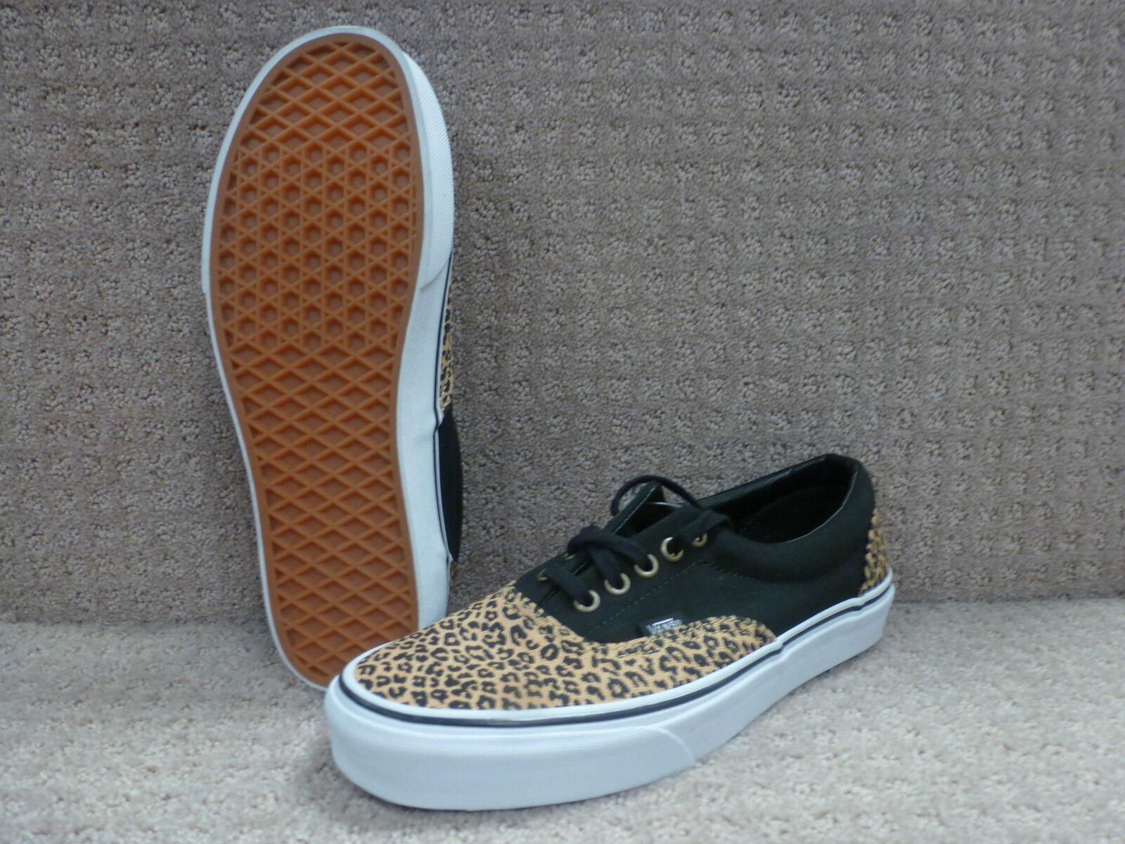 Vans Men's shoes Era color (2 Tone) Leopard Herringbone