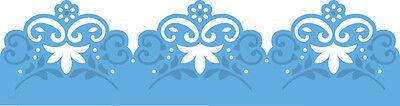MARIANNE DESIGN CREATABLES DIE CUT EMBOSS STENCIL BORDER FLOWERS VINTAGE LR0387