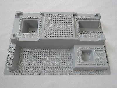 LEGO 3D Platte Ritterburg Polizeistation 51542 hellgrau  32x48x6  7892 7237