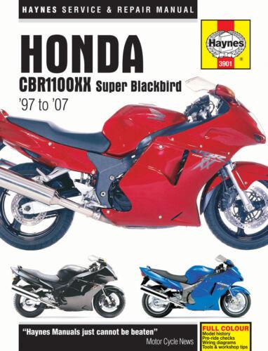 1997-2007 Honda CBR1100XX CBR1100 CBR 1100 XX 1100XX HAYNES REPAIR MANUAL 3901