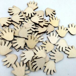 22mm For All Crafts 100 X Wooden Feet