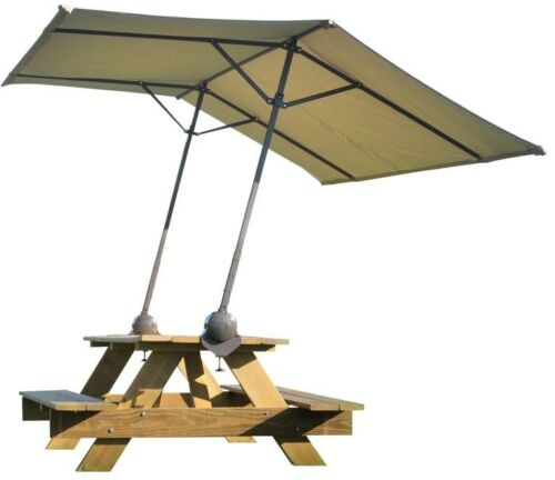 Tilt Mount Clamp Canopy Outdoor Picnic Table Bench Sunshade Shelter Adjustable