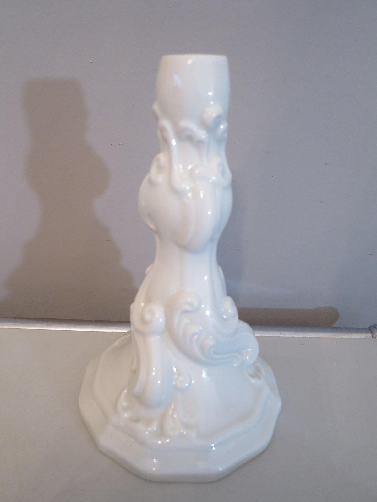 Hutschenreuther MARIA THERESIA Weiß KERZENSTÄNDER 18 cm Kerzenhalter