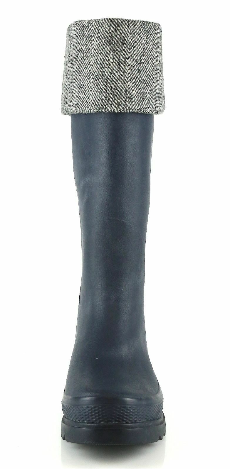 Cole Haan Rubber Chatham Woman's India Ink Rubber Haan Rainboots 8492 Size 6 M 5fb761