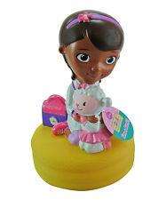"DISNEY DOC McSTUFFINS MOLDED BANK 9"" BIRTHDAY GIFT PRINCESS PIGGY BANK NEW GIRLS"