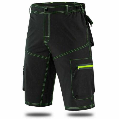 Baggy Cycling Shorts Men MTB Mountain Bike Short Pants Gel Padded Casual Shorts