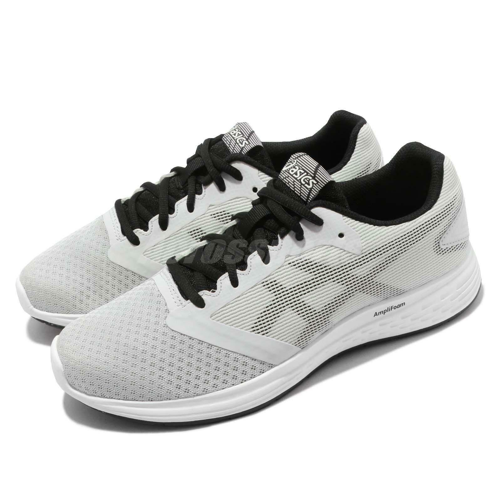 Asics Patriot 10 grigio nero Men Running Training scarpe scarpe da ginnastica 1011A131-023