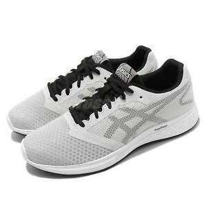 na sprzedaż online świetna jakość największa zniżka Details about Asics Patriot 10 Grey Black Men Running Training Shoes  Sneakers 1011A131-023