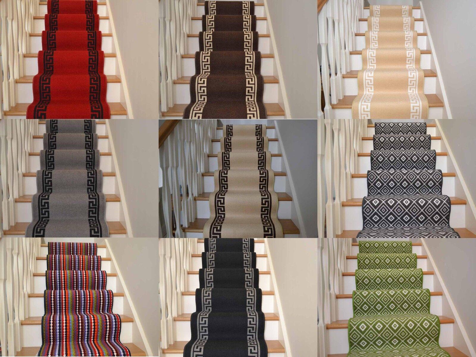 Cheap Carpet Tiles >> New Very Long Narrow Thin Stairway Staircase Carpet Runner