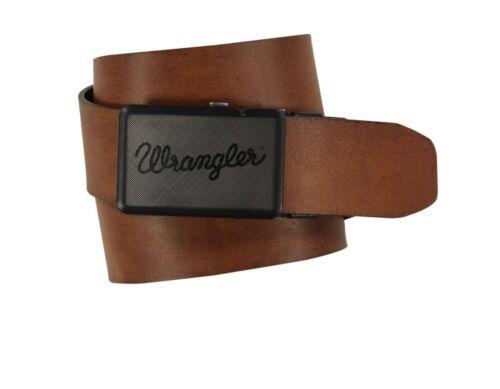 Wrangler Buckle passend geschnitten Wendbarer gürtel schwarz//Hellbraun,Größe