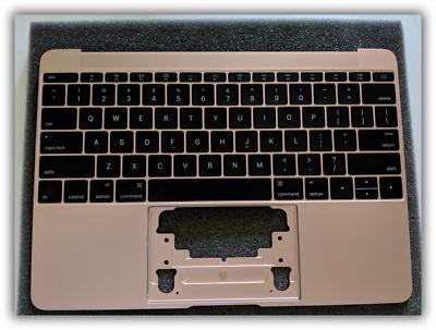 "Rose Gold Top Case//Keyboard New 2016 12/"" MacBook"