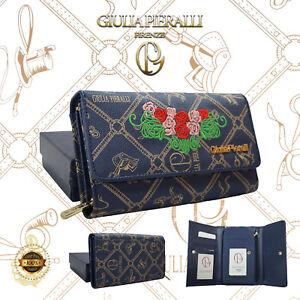 220d254805e1a0 Das Bild wird geladen Damen-Geldboerse-Giulia-Pieralli-Frauen-gross- Portemonnaie-XXL-