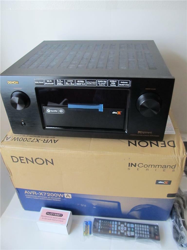 Denon AVR-X7200WA 9.2 Ch AV Receiver *****Unused. Available Now for 2500.00