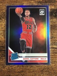 2019-20-Optic-DANIEL-GAFFORD-Purple-Holo-Prizm-Rated-RC-153-SHARP-amp-CENTERED