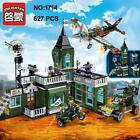 Enlighten Military Army Headquarters Plane Building Block Toy lego Compatible