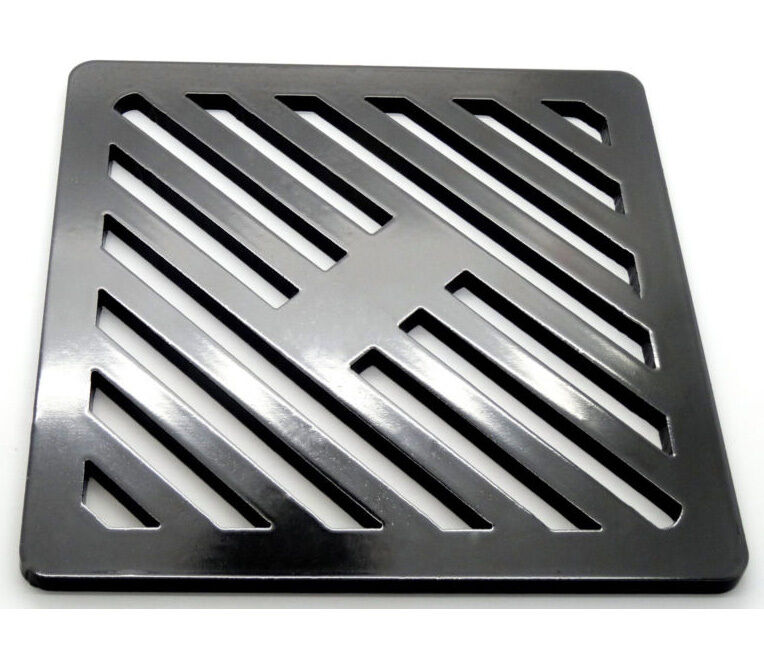 240mm Square Metal steel Gully Grid Heavy Duty Drain Cover likecast ironstronger