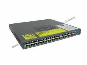 Cisco-WS-C4948-10GE-S-4948-10GE-48-Port-Gigabit-10GB-Switch-no-power