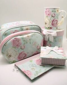 Mothers-Day-Gift-Travel-Pack-Gift-Floral-Toiletry-Bag-Cosmetic-Bag-Note-Book