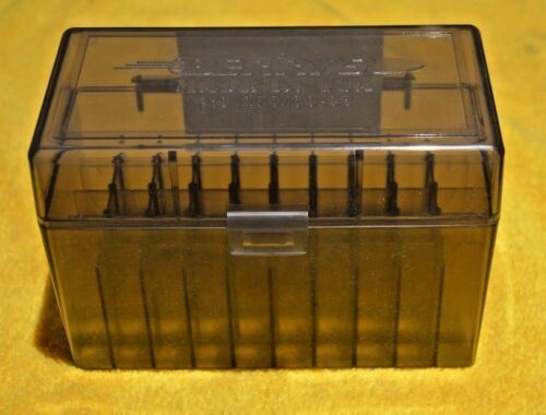 BERRY/'S PLASTIC AMMO 50 Round Storage Boxes For 8mm Mauser FREE SHIPPING 1