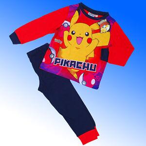 Boys-Authentic-Official-Pokemon-GO-Pyjamas-Age-5-12-Years