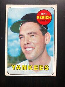 1969-Topps-Mike-Kekich-New-York-Yankees-262-Baseball-Card