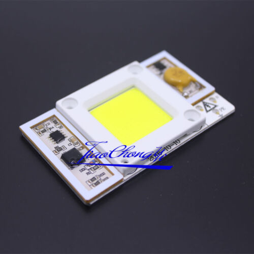 1X  220VAC High Power 50W led chip built-in driver Cool white 30000k LED lamps
