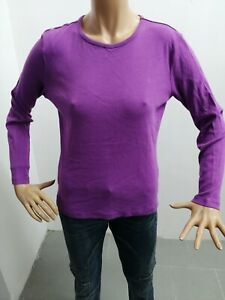 Maglia-RALPH-LAUREN-Donna-taglia-size-M-sweater-woman-pull-femme-maglietta-p6063