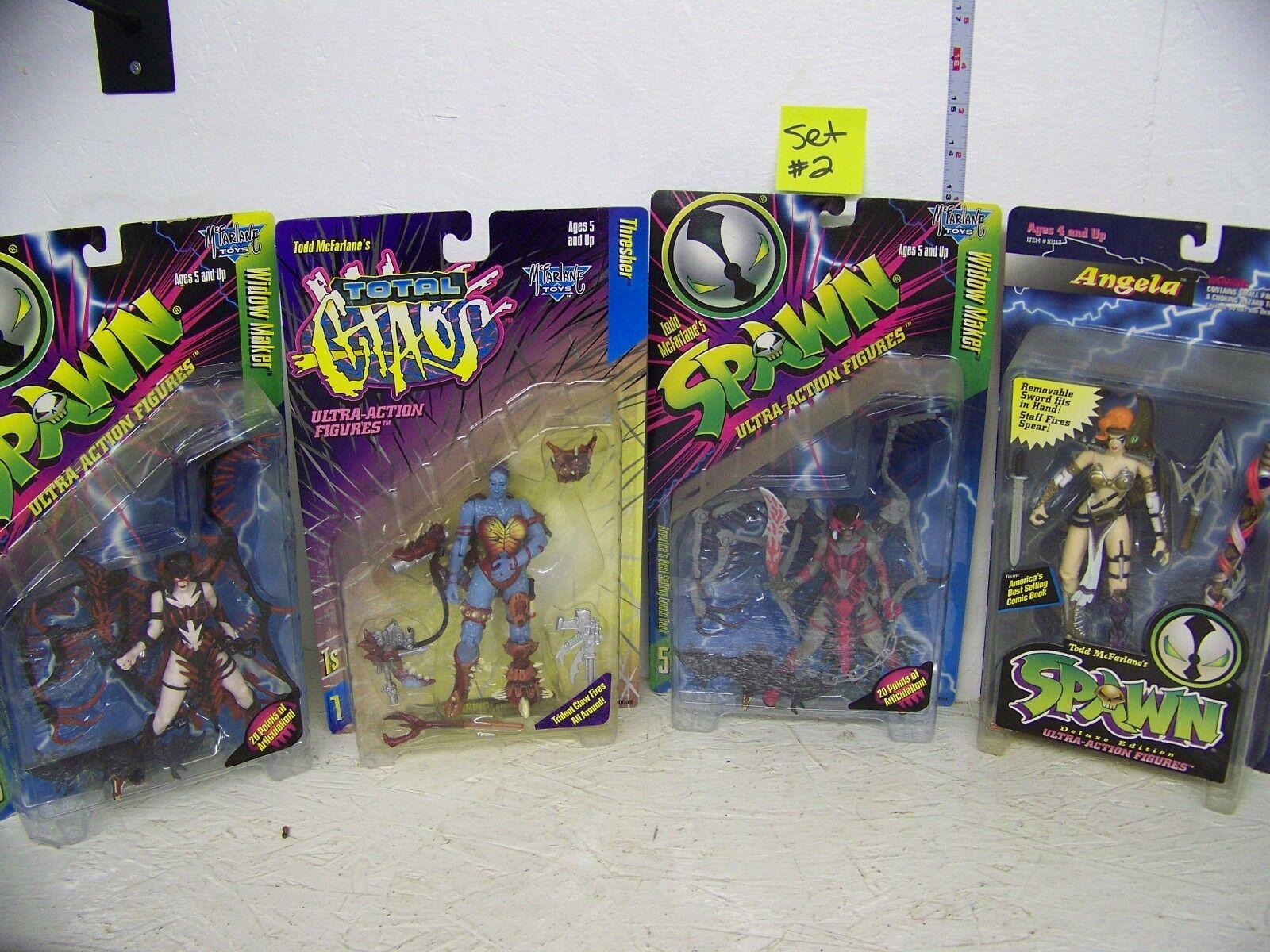 Spawn Set of 4 Girl Figures set