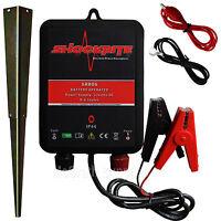 Electric Fence Energiser 12v Battery Powered 0.6 Joules Srb06 Horse Pony