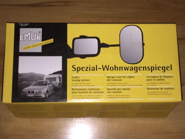 Emuk Spiegels Volkswagen : Emuk caravanspiegel für sharan alhambra passat skoda ebay
