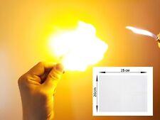 Pyropapier Zauberpapier Flashpaper Rückstandsfreie Verbrennung Rauchfrei
