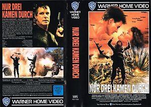 VHS-Nur-drei-kamen-durch-George-Peppard-George-Hamilton-Horst-Buchholz
