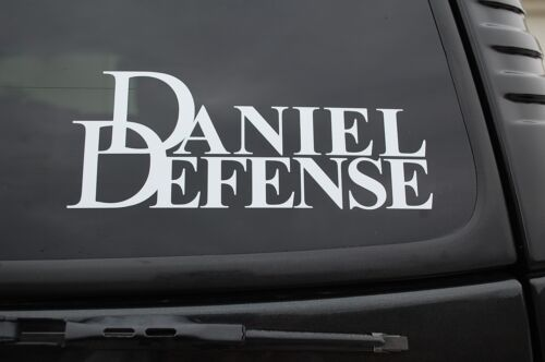 V383 Daniel Defense Sticker Vinyl Decal Gun NRA Car Window Firearm Pick Size