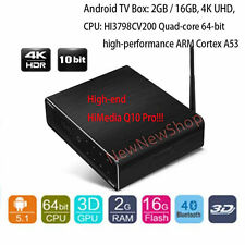 HiMedia Q10 Pro 3D 4K HDR UltraHD 16GB Smart Android TV Box Dual WiFi DTS Dolby