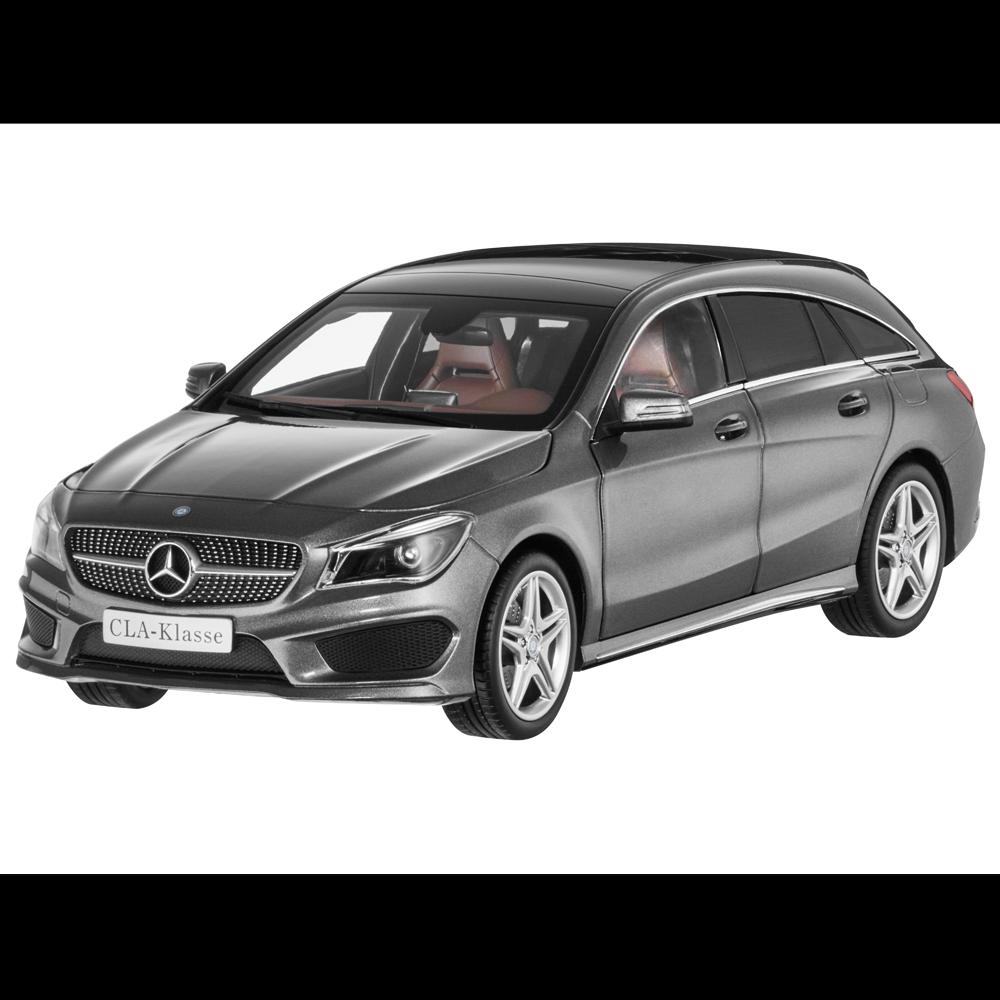 MERCEDES-BENZ 1 18 modello di auto x117 CLA scatti BRAKE MOUNTAIN grigi b66960351