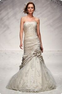 Image Is Loading Ian Stuart Nova Scotia Wedding Dress Size 8