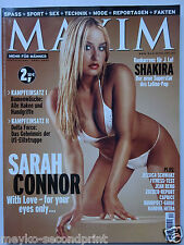 Maxim 4/2002, Sarah Connor, Shakira, Caprice, Nadini Mitra, Dessous