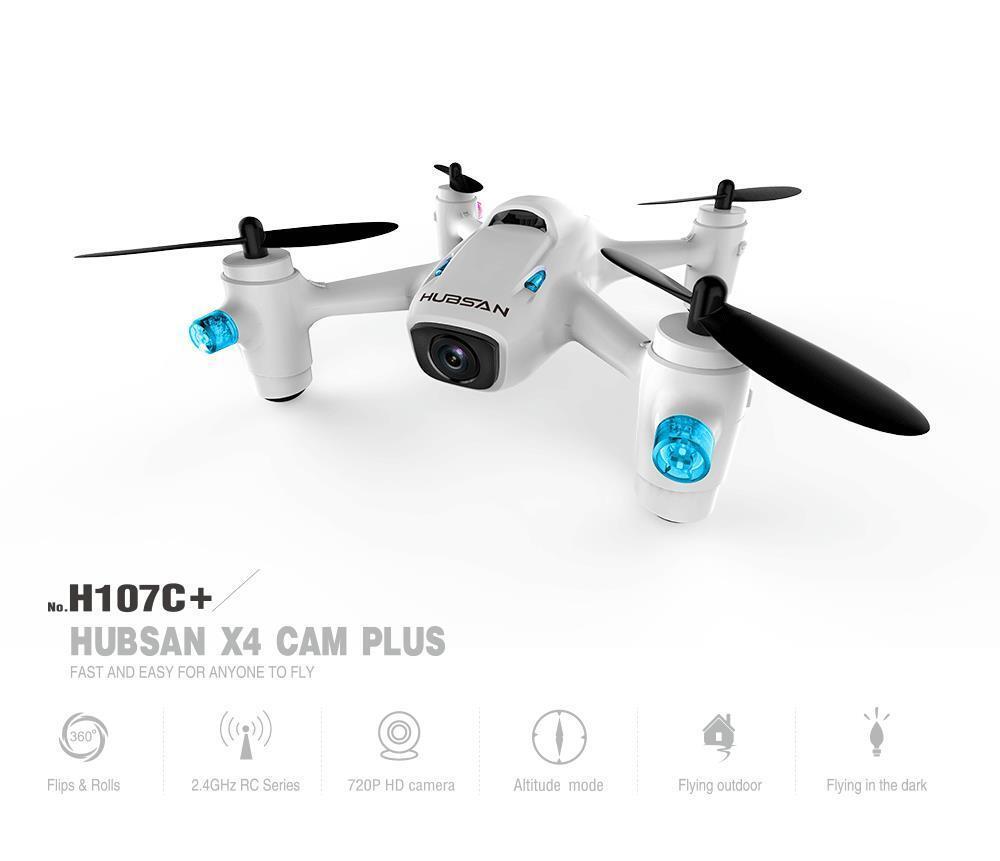 Hubsan X4 Camera Plus H107C+ 2.4G 4CH RC Quadcopter Drone RTF HD 720p Camera