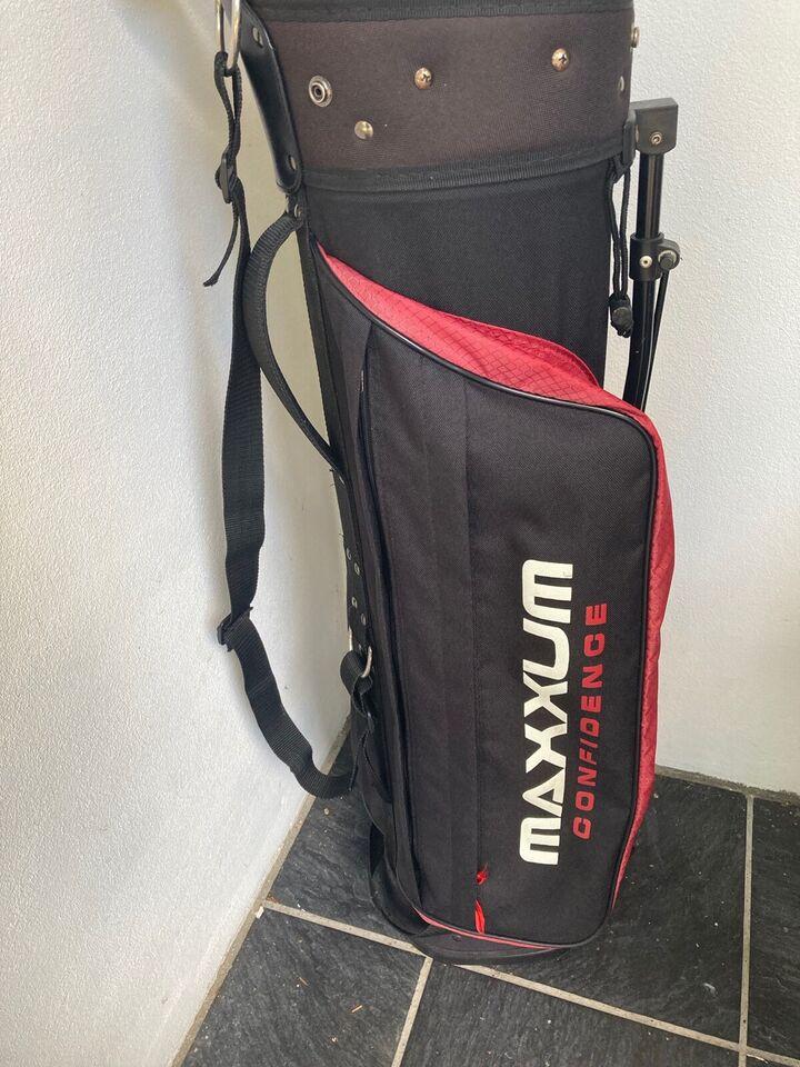 Begynder golfsæt, stål, Wilson og Maxxum