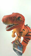 Jurassic World Red T-REX Hybrid Plush Crazy Rare Stuffed Soft Toy Dinosaur