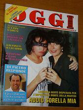 OGGI 1995/21=MIA MARTINI MORTE=KUMIKO GOTO=MONTICELLO SIRONI AZALEE=MAGRETA=