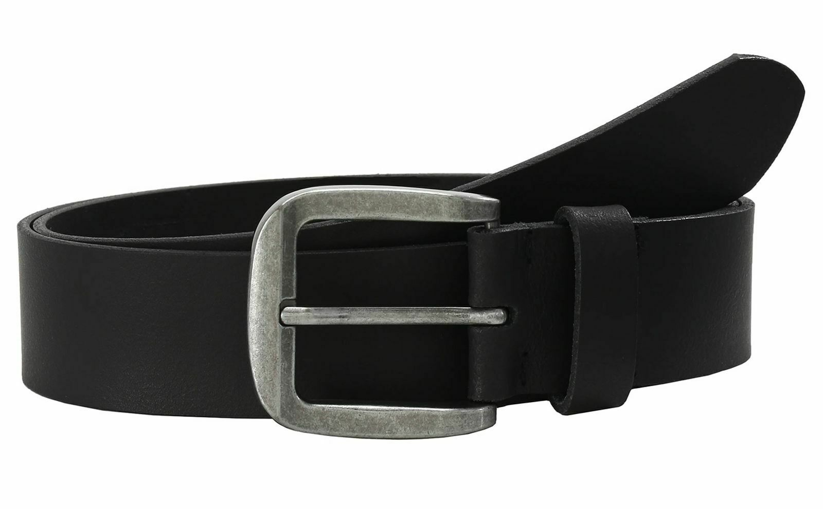 LLOYD Fashion Leather Belt 4.0 W120 Gürtel Accessoire Black Schwarz