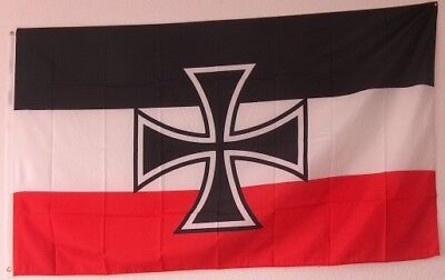 1708 Fahne Flagge Kaiserreich Gott mit uns  Eisernes Kreuz   150 x 90