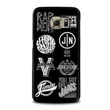 BANGTAN BOYS BTS KPOP LOGO Samsung Galaxy S3 S4 S5 S6 S7 Edge Note 3 4 5 Case