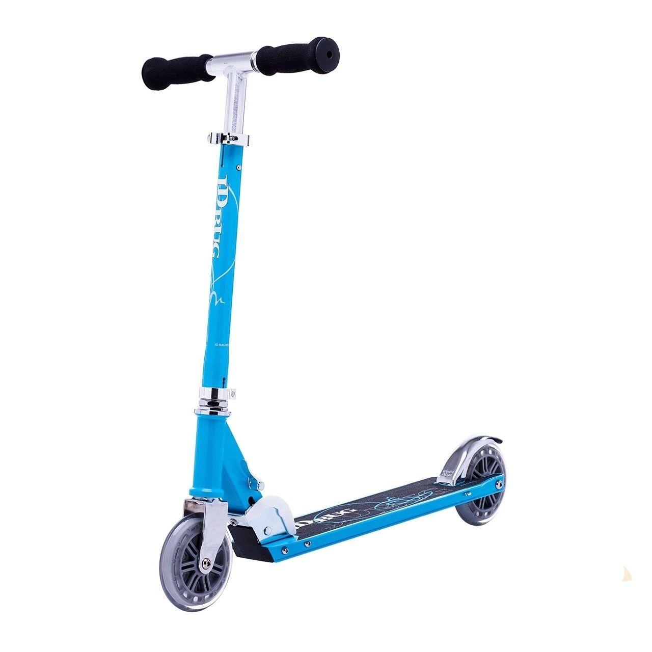 Jd Bug Original Street 120 Séries Réglable Pliable Scooter - Blau Ciel