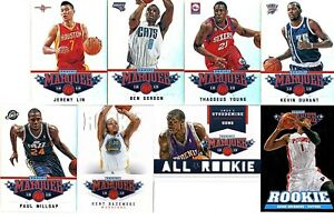 2012-13-PANINI-MARQUEE-BASKETBALL-LOT-OF-8-CARDS-ROOKIES-INSERTS
