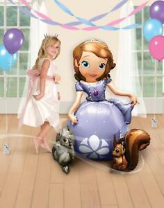 Disney-Sofia-the-First-Airwalker-54-034-Jumbo-Foil-Balloon-Birthday-Party-Supplies