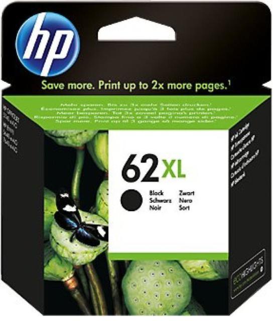 HP Genuine 62XL Black Ink Cartridge HP ENVY 5540 5643 5542 5544 2020