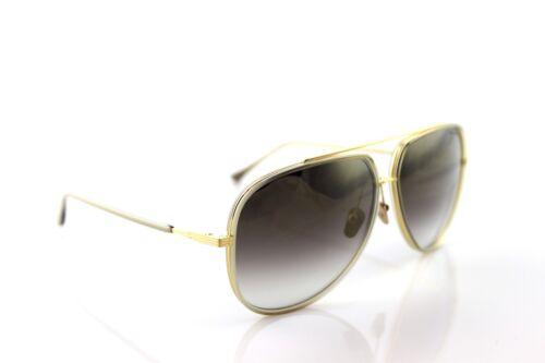 RARE Genuine DITA 18K Gold CONDOR-TWO 2 Grey Crystal Pilot Sunglasses 21010 B
